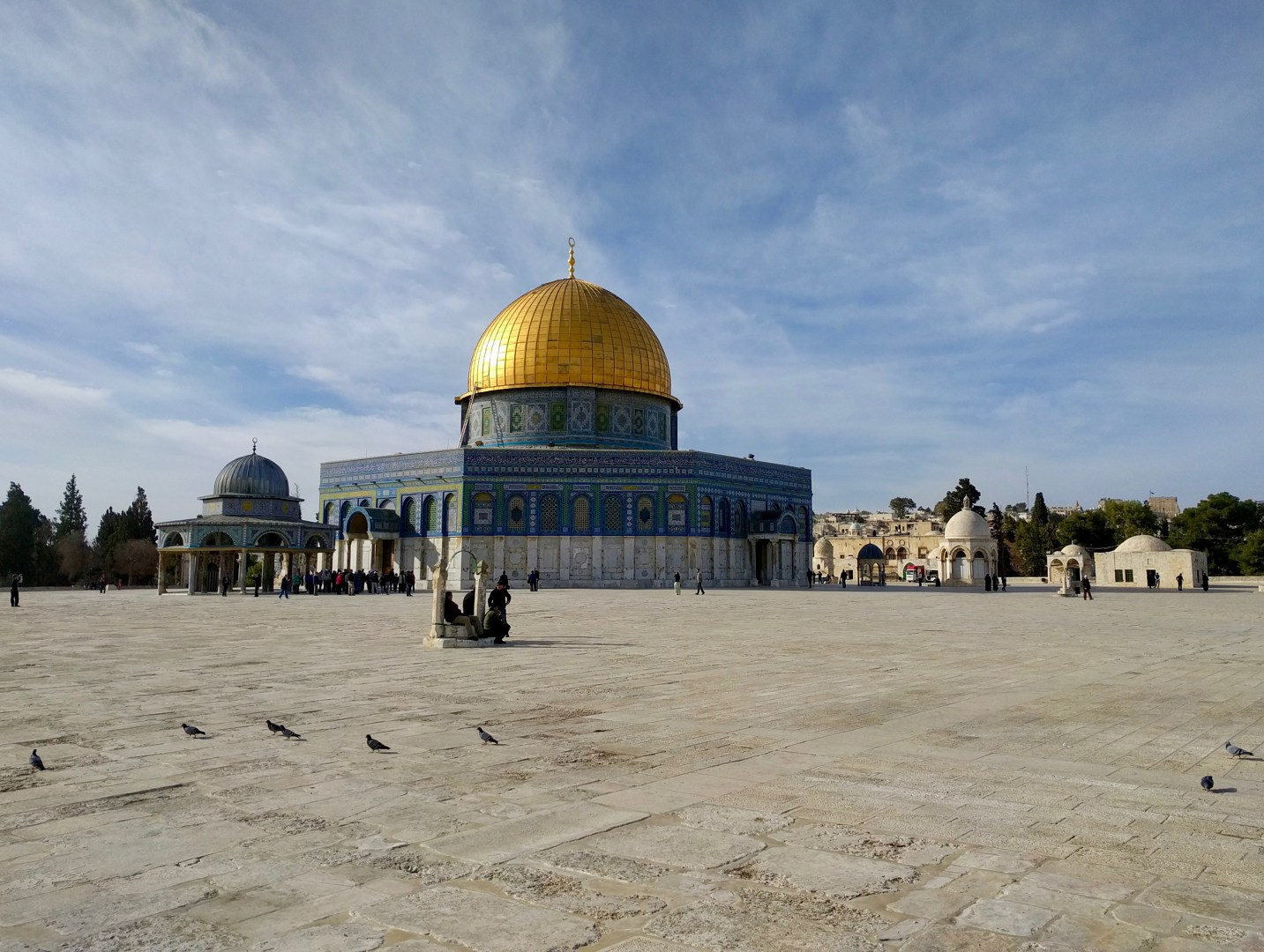 The Dome of the Rock on the Temple Mount
